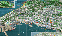 Falmouth Town Map