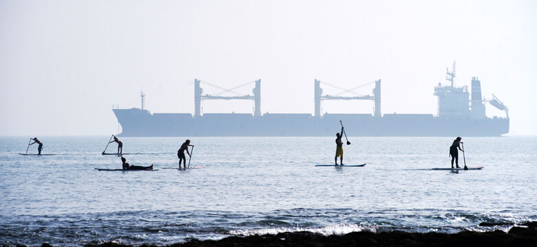 sup, wesup, Gylly beach, stand up paddle boarding, falmouth, Cornwall