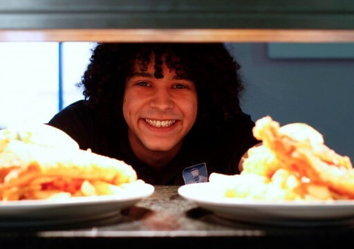 Harbour lights fish chips official falmouth website for Pete s fish and chips owner murdered
