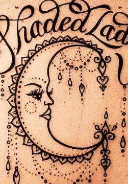 Shaded Lady Tattoo