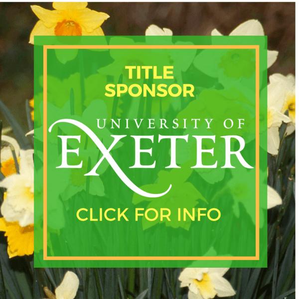 Spring Festival, Sponsor, University of Exeter, Falmouth