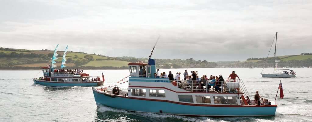 fal river, links, boats, ferry, falmouth, flushing, st mawes