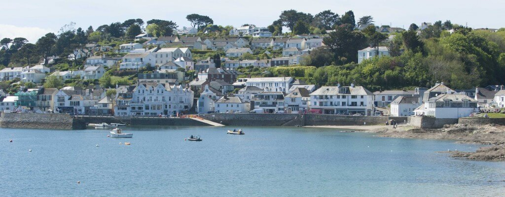 st mawes, the roseland, cornwall