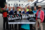 Weekly Market, The Moor, Falmouth, LoveFalmouth, Cornwall, Markets