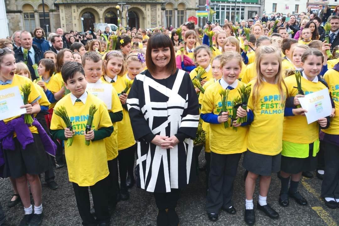Dawn French involved in Falmouth Spring festival
