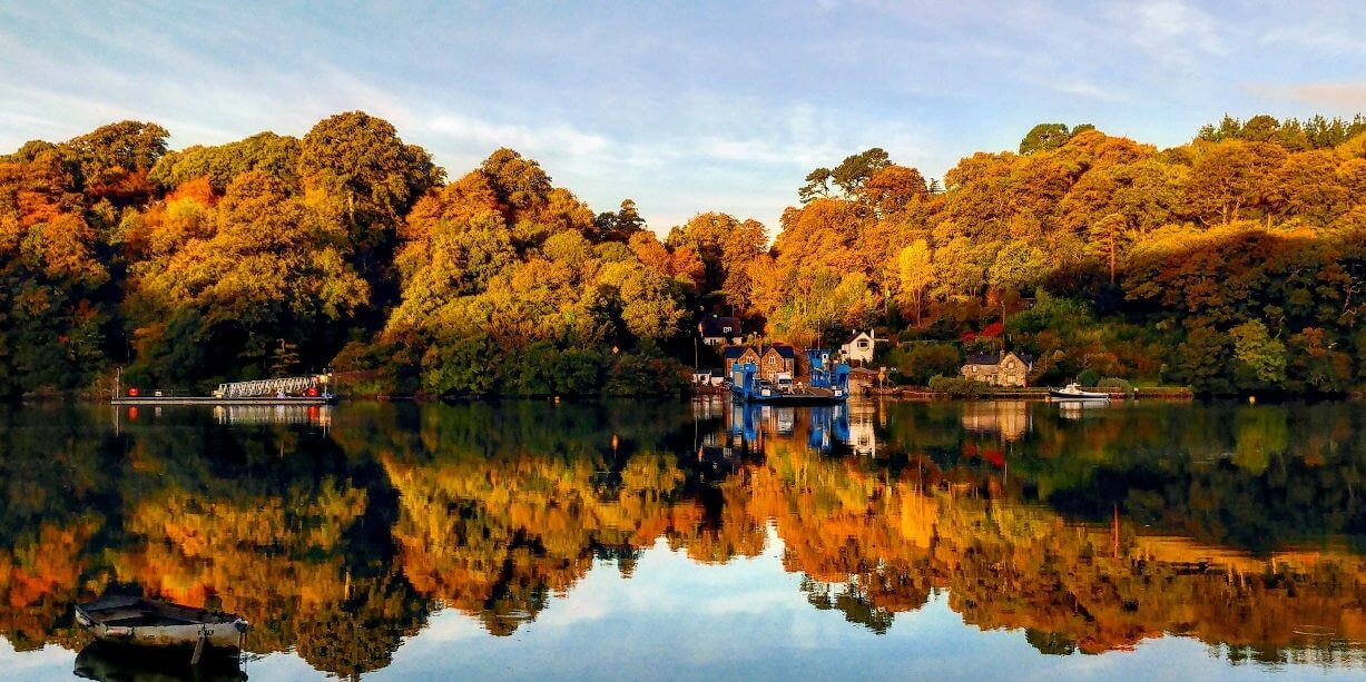 Early morning along the River Fal Credit Jenna Robbins