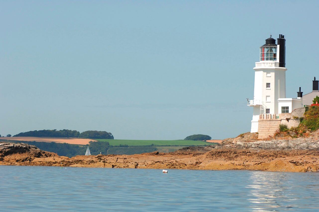 St Anthony Lighthouse nr Falmouth