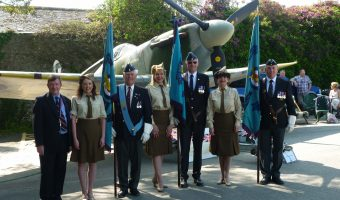 Battle of Britain 77th Anniversary Service