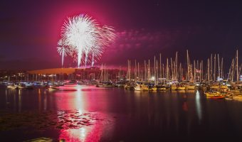 Falmouth Week Fireworks