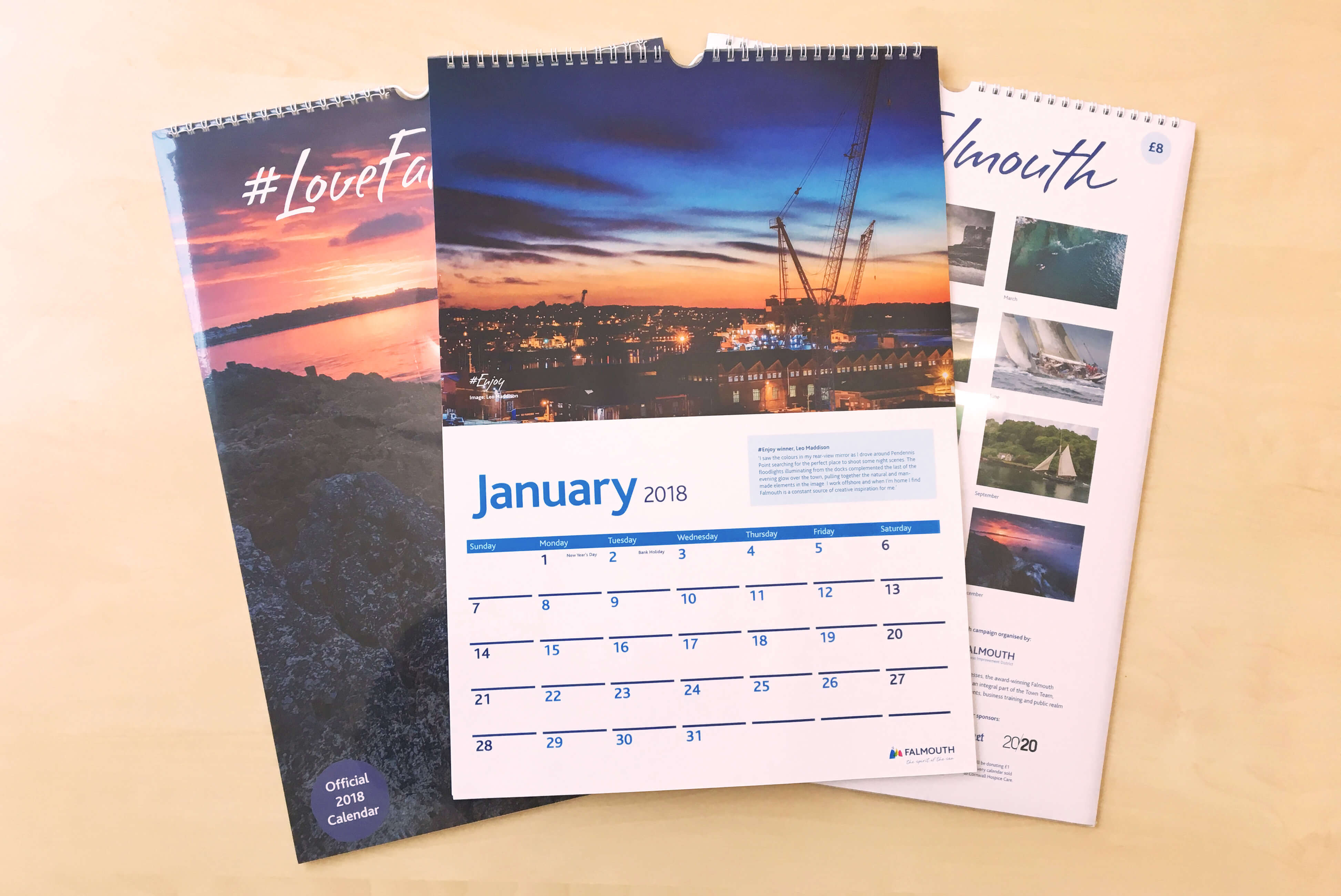 Unique Calendar Design Inspiration : Inspirational runner s daily desk calendar